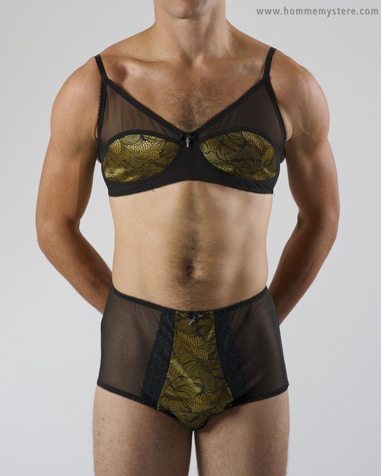 Hombres vestidos con lenceria femenina fotos