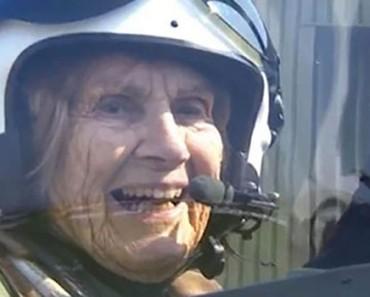 Esta mujer de 92 años fue piloto en la Segunda Guerra Mundial y ahora vuela por ÚLTIMA VEZ 1