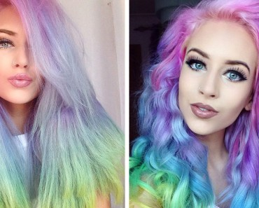 Pelo arcoíris es la nueva tendencia para este verano. ¿Te ATREVERÍAS con este look?