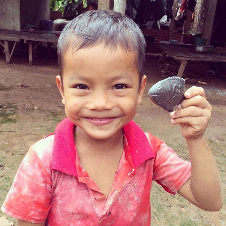 Este pez de la suerte de hierro puede salvar MILLONES de vidas. Descubre cómo