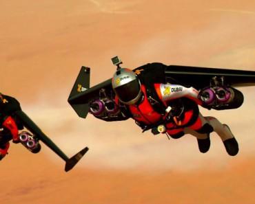 ASOMBROSO: Ampliando las fronteras del vuelo humano en los cielos de Dubai