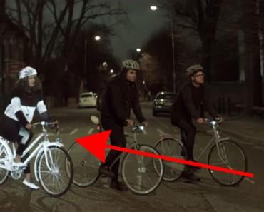 Este nuevo y genial producto PROMETE acabar con el peligro de ir en bicicleta por la noche