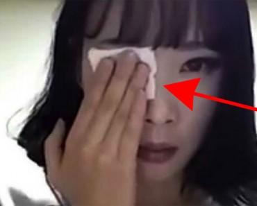 Se quita la MITAD su maquillaje... En el minuto 01:32 entenderás por qué éste video se ha hecho VIRAL