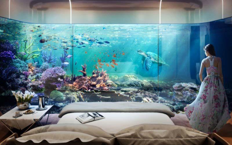 Esta casa flotante se ve de lujo, pero su mejor característica está OCULTA debajo de la superficie