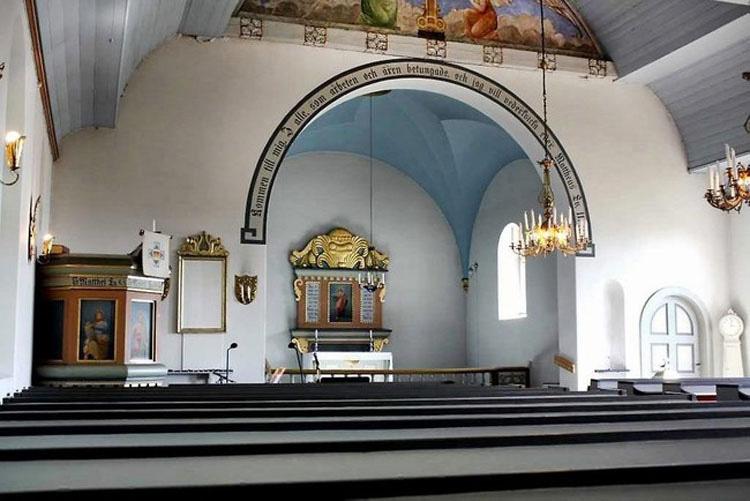 Cuando vi el interior de esta iglesia de estilo clásico, no podía CREER lo que estaba viendo