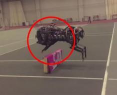 Este robot guepardo sorprende a todo el mundo al ver cómo detecta y salta obstáculos