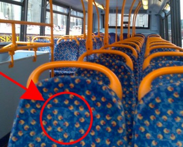¿Te has preguntado por qué los asientos de los autobuses SIEMPRE están cubiertos de patrones horribles?