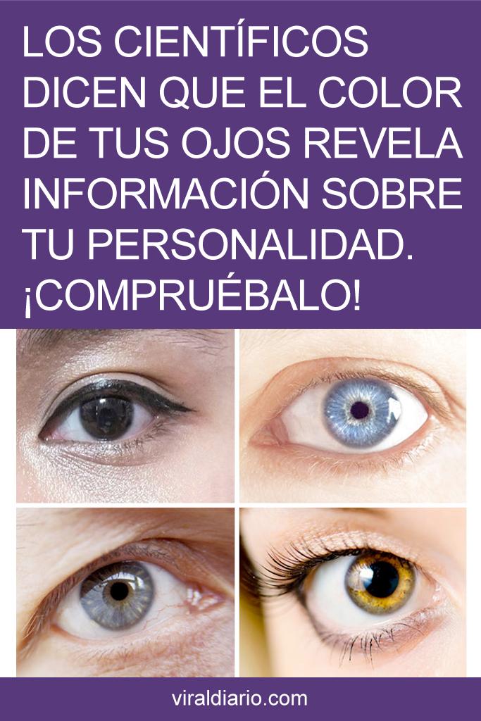 Los científicos dicen que el color de tus ojos revela información sobre tu personalidad. ¡COMPRUÉBALO!