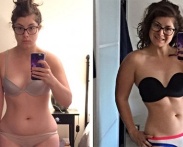 Una blogger de fitness revela que las fotos del ANTES y el DESPUÉS no son siempre lo que parecen