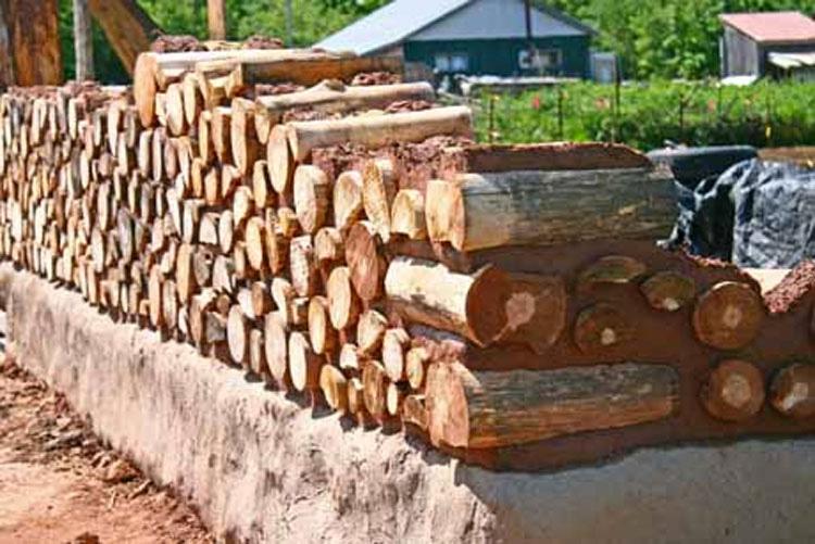 Querían convertir su casa en algo épico, así que recogieron troncos de árbol e hicieron ESTO