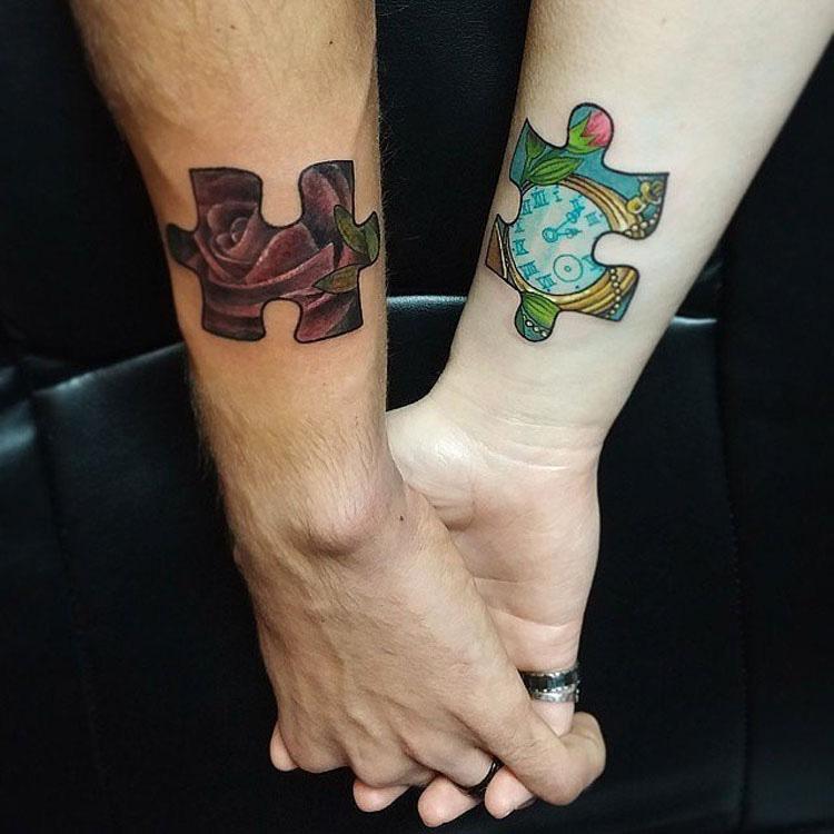 30 parejas que se han tatuado por AMOR. La #20 es adorable