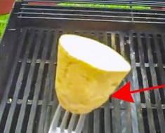 Frota una patata en su parrilla. Después descubrí por qué, no puedo esperar a probar ESTO