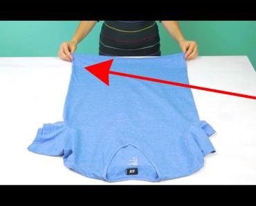Si estás planeando un viaje este verano, mira este truco para plegar ropa. Esto se NECESITA SABER