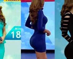 """Internet está enloqueciendo por ésta """"mujer del tiempo"""" mexicana"""