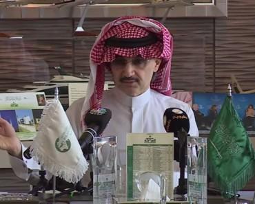 Príncipe saudí ENTREGA su fortuna personal de 39 mil millones de euros a la caridad