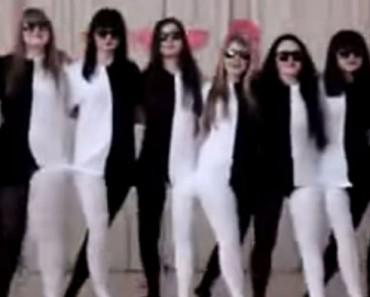 Cuando estas muchachas empiezan a bailar crean una ilusión óptica HIPNOTIZANTE e INCREÍBLE