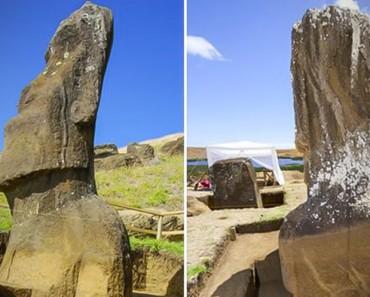 Cientificos descubren finalmente lo que hay debajo de las cabezas de Isla de Pascua, y es IMPACTANTE