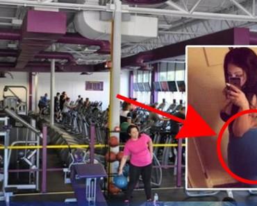 A esta mujer le EXPLOTARON sus implantes mientras hacía ejercicio