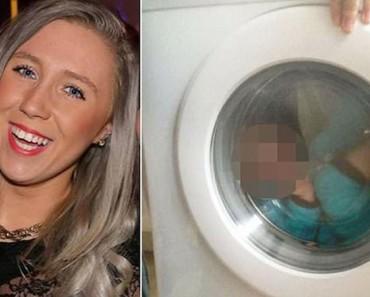 Esta madre pensó que sería divertido poner a un niño con Síndrome de Down en la lavadora
