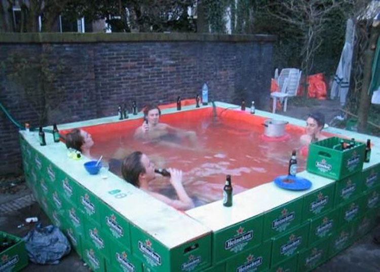 23 piscinas caseras o improvisadas que son hilarantes y brillantes ...