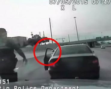 Policía la detiene por conducir mientras usa el teléfono, pero se encuentra después algo totalmente INESPERADO