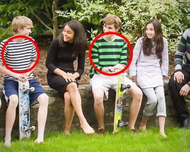 Estos niños llevan ropa de aspecto normal, pero lo que llevan puesto es algo REVOLUCIONARIO