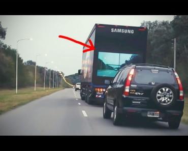 Este camión parece normal. Pero NO CREERÁS cómo va a cambiar la forma de conducir por carretera