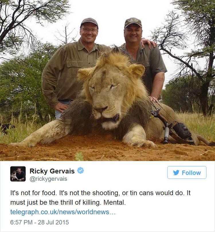 La indignación de Internet fuerza al dentista que mató al león Cecil a cerrar su clínica dental