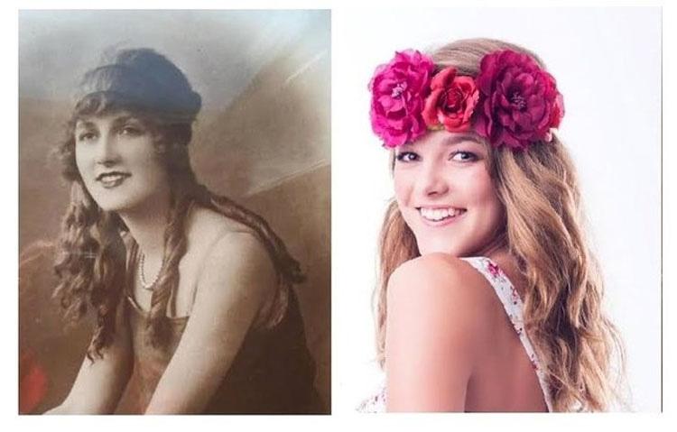 Ciertamente la historia se repite, y estas fascinantes fotos de familia lo prueban 7