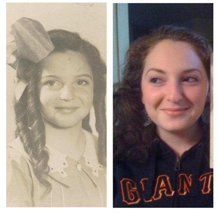 Ciertamente la historia se repite, y estas fascinantes fotos de familia lo prueban 9