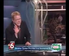 A este presentador le ocurre ESTO en directo cuando escucha el nombre de este cerdo
