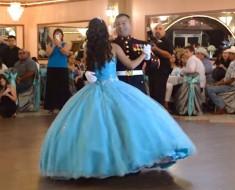 Este Marine baila con su hija quinceañera, pero nadie esperaba que hiciera ESTO