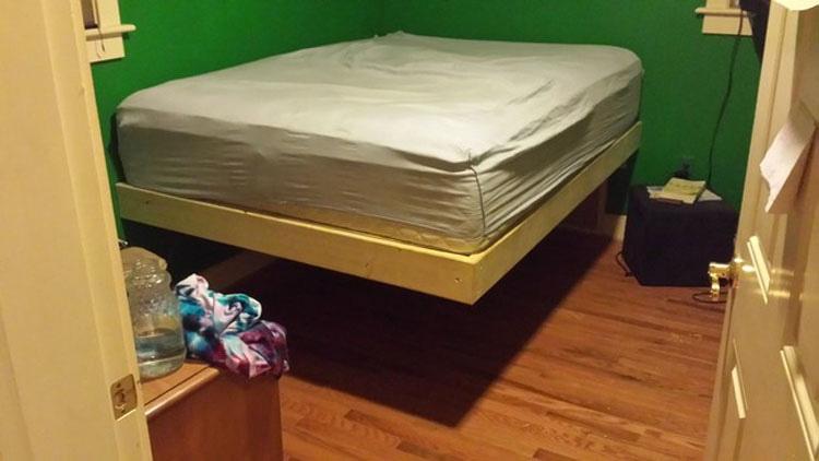Este no es un armazón de cama \