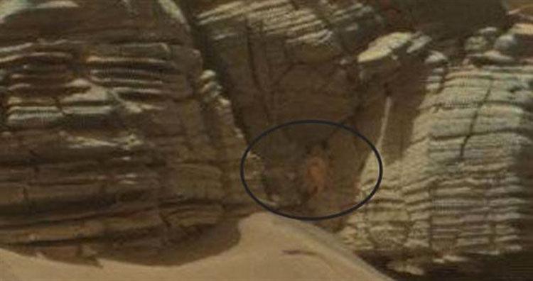 La NASA captura en una imagen de marte ALGO que nadie sabe lo que es 1