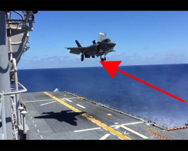 Este avión de combate es impresionante, pero cuando aterriza hace algo ALUCINANTE