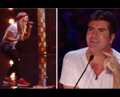 Canta una bella canción de Michael Jackson, pero lo que Simon le dice la hace LLORAR