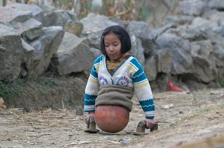 """Cómo la """"niña pelota de baloncesto"""" se ha convertido en una fuente de inspiración"""