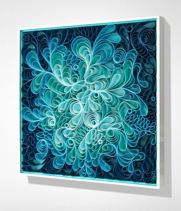 Parecen pinturas abstractas, pero al MIRAR más de cerca se ve algo INCREÍBLE y SORPRENDENTE