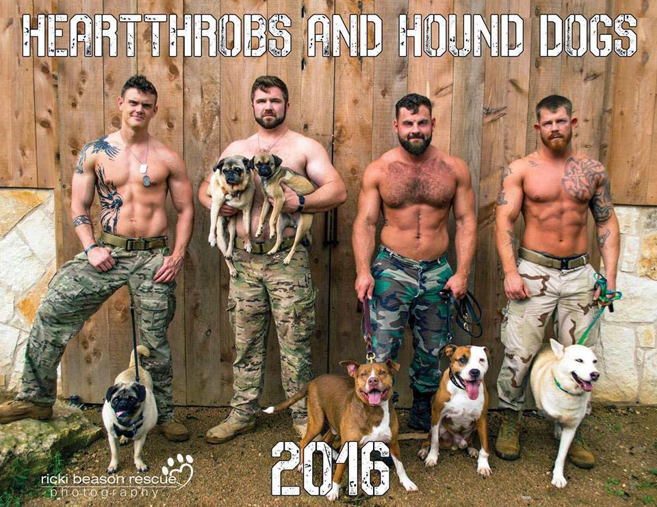 Estos veteranos hacen ESTO para ayudar a los perros de un refugio. ¡GUAU!