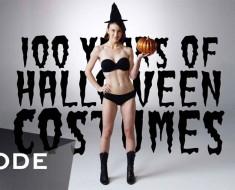 Este vídeo de 100 Años de disfraces de Halloween te ASOMBRARÁ (especialmente el de 2015)