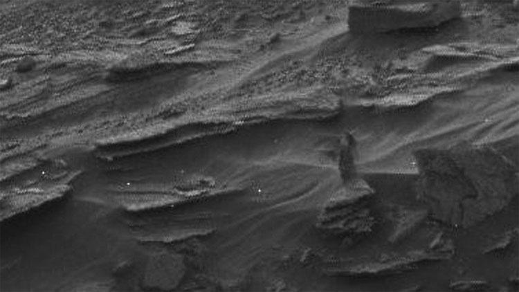 7 de las cosas más espeluznantes y bizarras vistas en Marte