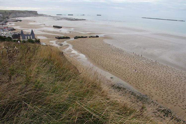 Lo que estas personas han creado en esta playa es increíble. Cuando te alejas, verás por qué