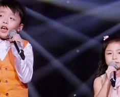 Cuando estos dos niños comienzan a cantar impresionan a la audiencia. Pero ATENTOS a la niña de 7 años