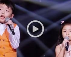Cuando estos dos niños comienzan a cantar te impresionarán. Pero ATENTOS a la niña de 7 años
