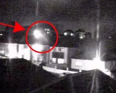 ¿Lo que esta cámara capturó en un pueblo británico es un fenómeno natural o algo BASTANTE más inquietante?
