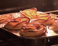 La receta de rosas de manzana que todo el mundo quiere hacer (y PROBAR)