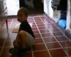 """Esta madre dice haber capturado un """"duende"""" en un vídeo... pero ¿es real?"""