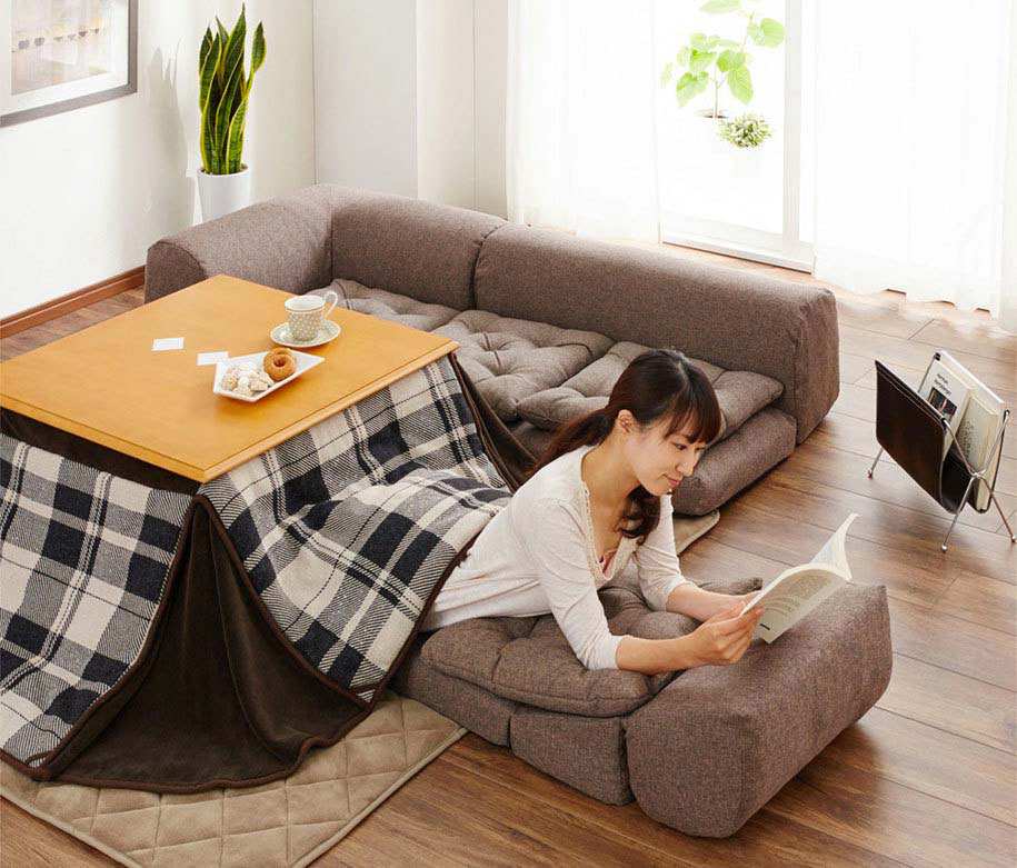 No podrás vivir un día más sin este invento loco e impresionante: el kotatsu