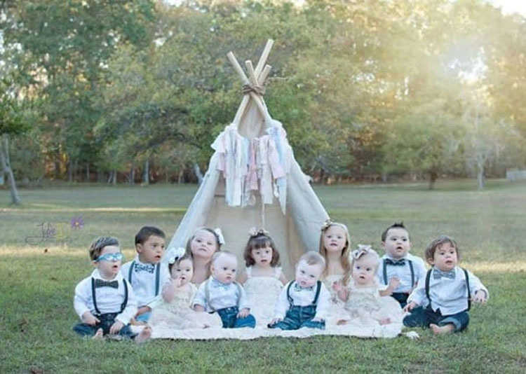 Esta mujer fotografía niños con Síndrome de Down para capturar su belleza. IMPRESIONANTE