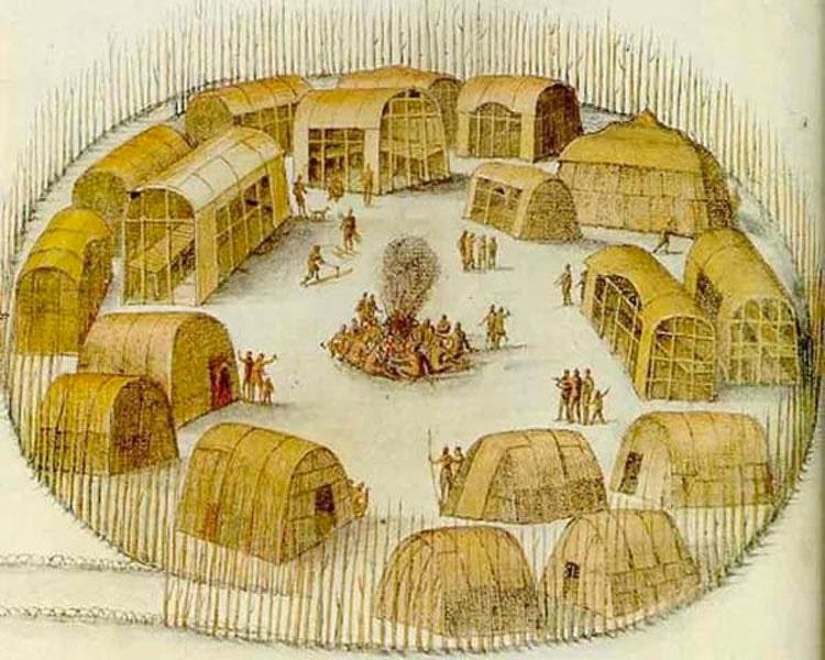 En 1587 desaparecieron 115 personas. Después encontraron esta misteriosa palabra tallada en un árbol